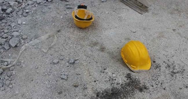 Konya'da üzerine yem çuvalları düşen işçi yaşamını yitirdi
