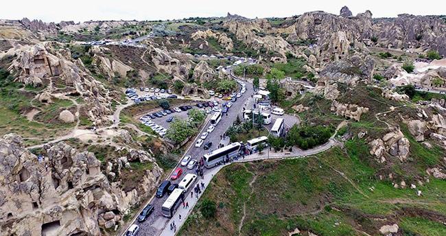 Kapadokya'da Ramazan Bayramı doluluğu yüzde 100'e yaklaştı