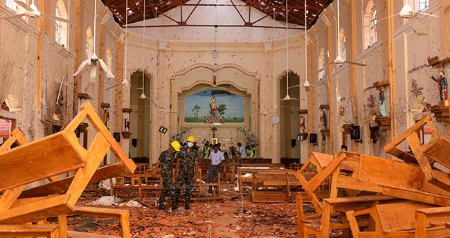 Sri Lanka'daki terör saldırılarını terör örgütü DAEŞ üstlendi