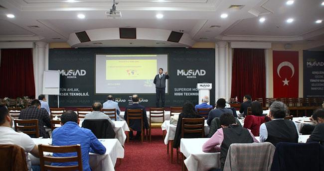MÜSİAD Konya Şubesinde dış ticaret konferansı