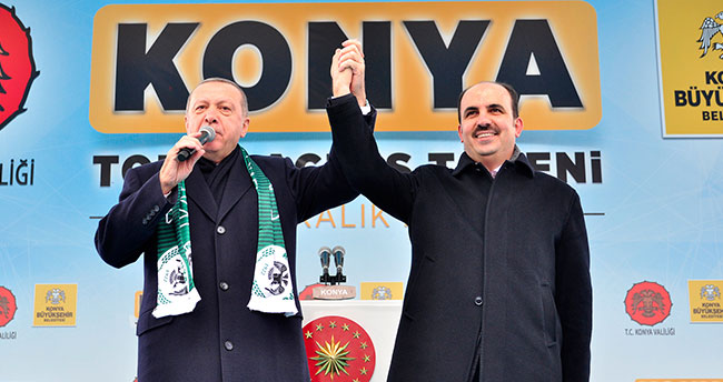 Erdoğan'dan Başkan Altay'a ödül