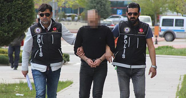 Suriyeli zanlı uyuşturucuyu oğlunun üzerine sarmış!