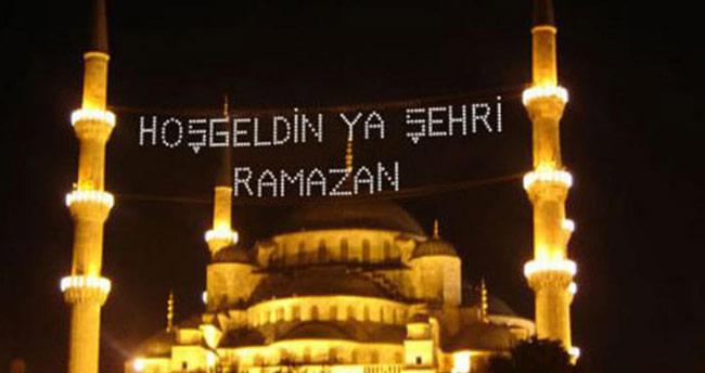 2019 Konya Ramazan imsakiyesi