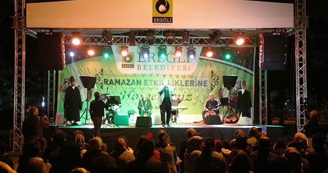 Ereğli Belediyesi Ramazan etkinliklerinin açılışını yaptı