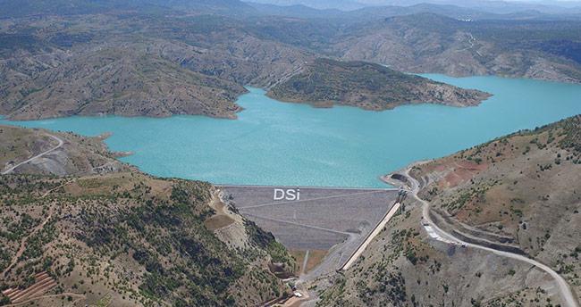 Konya'nın içme ve kullanma suyu barajı doldu
