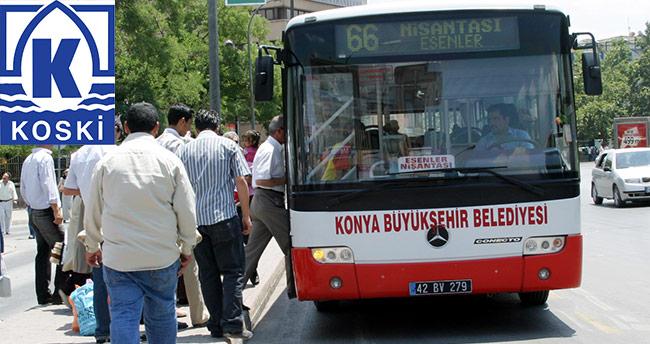 Konya'da su ve ulaşım ücretlerine indirim talebi