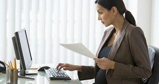 Hamile çalışana özel mesai saati   İşte hamilelikte çalışma koşulları