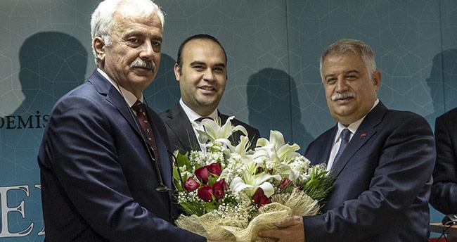 Muzaffer Şeker, TÜBA'da görevi devraldı