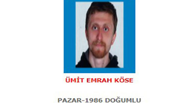 Mavi kategorideki terörist yakalandı