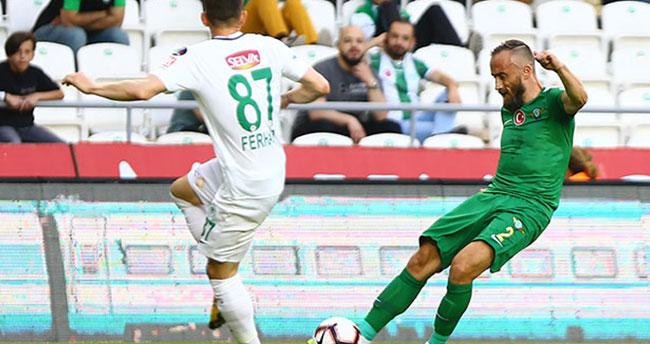 Atiker Konyaspor Süper Lig'i 1 puanla kapattı