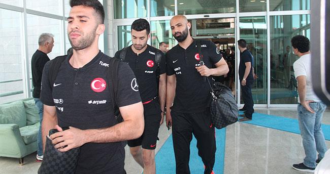 A Milli Takım, Konya'ya geldi