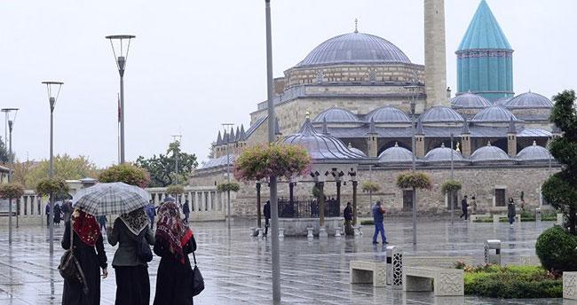 Konya'ya kuvvetli yağış uyarısı