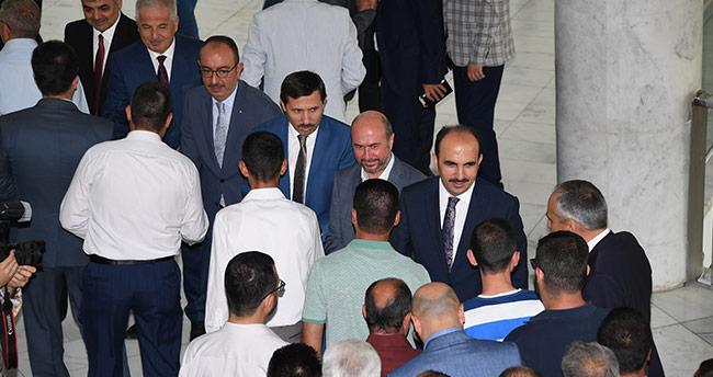 Konya merkez belediyeleri bayramlaştı