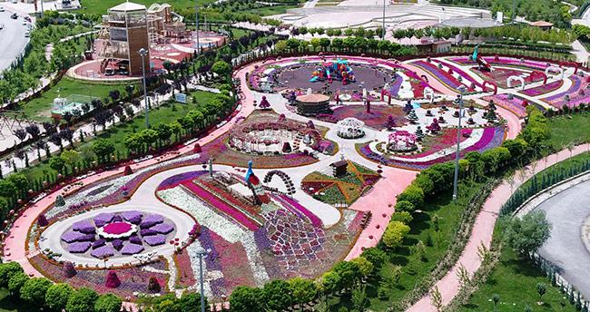 Selçuklu Çiçek Bahçesi doludan zarar gördü! Festival ertelendi