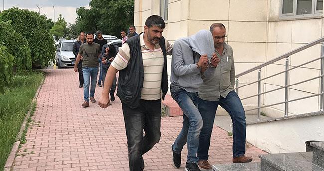 Konya'daki kapı hırsızları yakalandı