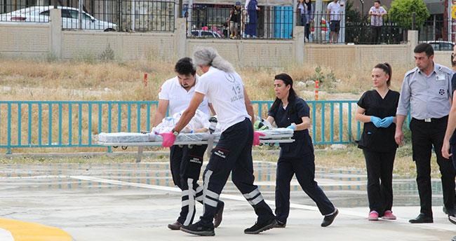 Karaman'da pencereden düşen bebek ağır yaralandı