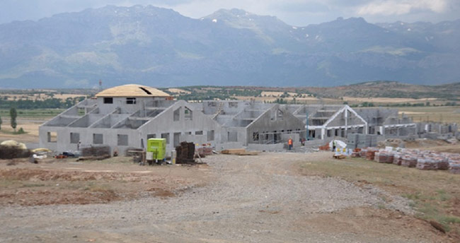 Seydişehir'de termal tatil köyü çalışmaları ilerliyor
