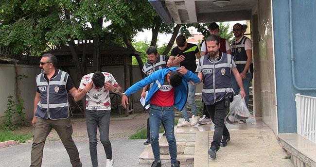 Konya'da akü hırsızlığına 4 tutuklama!
