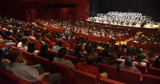 Cumhurbaşkanlığı Senfoni Orkestrası Konya'da sahne aldı