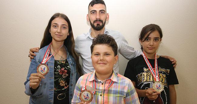 Beyşehirli iki sporcu Türkiye şampiyonu oldu