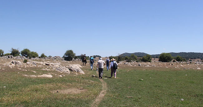 Beyşehir Gölü Milli Parkı'nda yürüyüş ve bisiklet rotaları belirleniyor