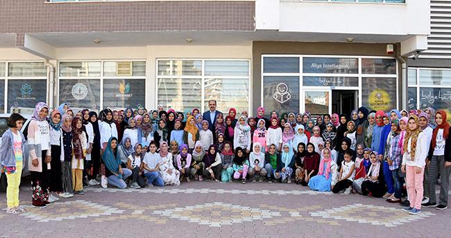 Başkan Altay Bilgehanede Öğrencilerle Buluştu