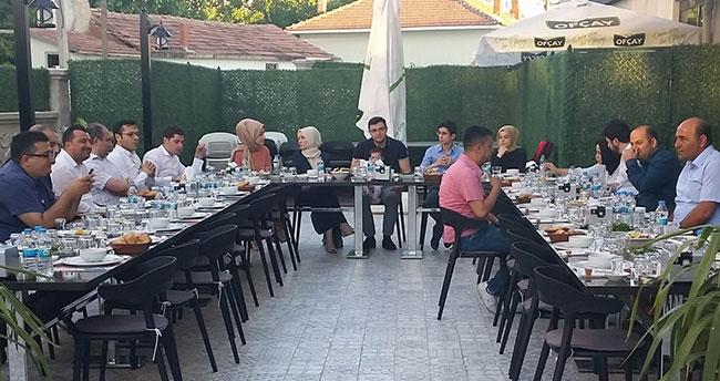 Kulu Adliyesi personelinden veda yemeği