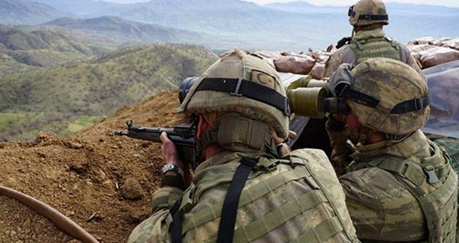 Avaşin-Basyan bölgesinde 2 terörist etkisiz hale getirildi