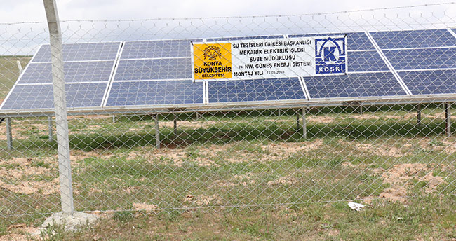 KOSKİ, yenilenebilir enerji kullanımını tesislerinde yaygınlaştırıyor