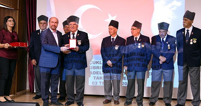 Selçuklu'da Kıbrıs Gazileri'ne madalya ve berat verildi