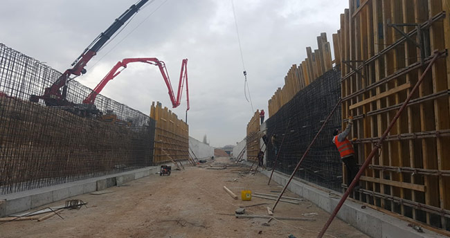 Keçili Kanalı'nda bin 377 metre ıslah gerçekleştirildi