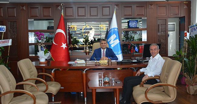 """Konya SMMMO Başkanı Erdal: """"Yerel basınımızla güzel hizmetlere imza atacağız"""""""