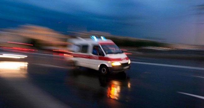 Konya'da kamyonet devrildi: 1 ölü, 1 yaralı