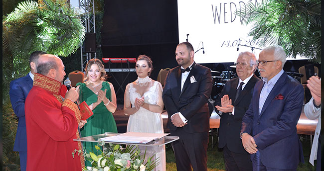 Aziz Yıldırım, Konya'da nikah şahidi oldu