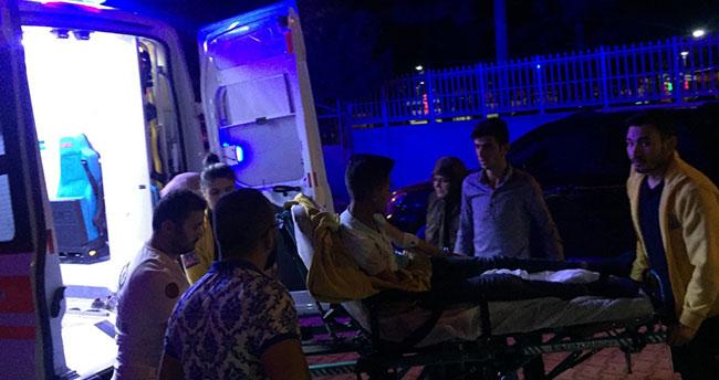 Konya'da otomobil elektrikli bisiklet ile çarpıştı : 1 yaralı