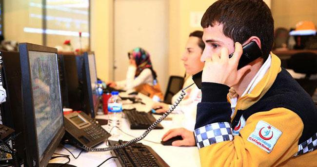 Konya'da acil çağrı merkezini gereksiz meşgul edenlere 2 bin 854 lira para cezası