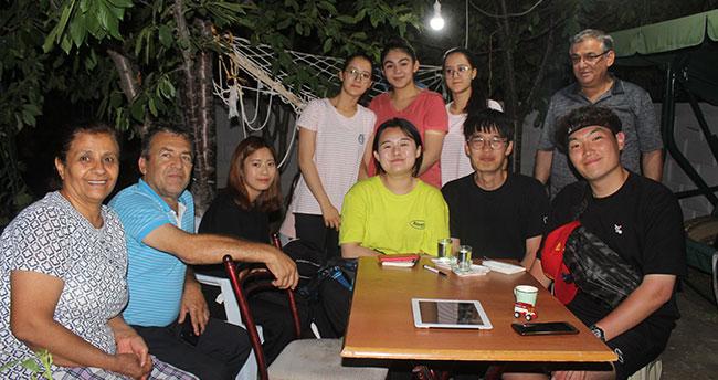 Konyalı aileye Güney Koreli misafir
