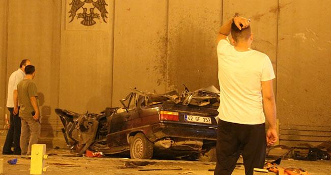 Konya'da katlliam gibi kaza: İki otomobil çarpıştı, 7 ölü!