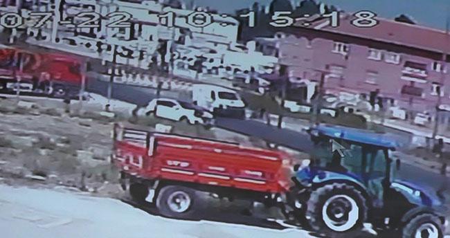 Konya'da yaşandı! Çarptı kaçtı, kamera kaydetti…