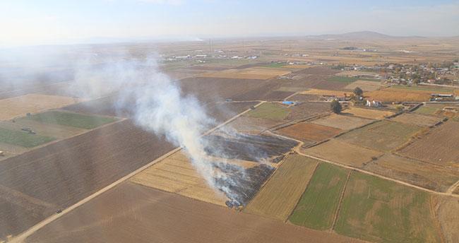 """Ulusal Hububat Konseyi Başkanı Konya'da uyardı: """"Anız yakılmasına 'dur' demeliyiz"""""""
