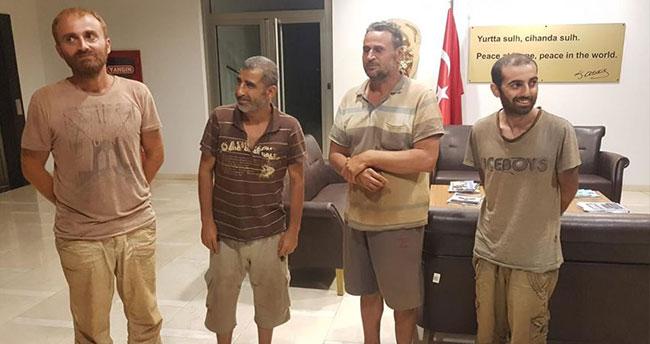Nijerya'da kurtarılan 4 Türk vatandaşı Abuja Büyükelçiliğine getirildi