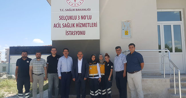 Konya'da 3 Nolu Acil Sağlık Hizmetleri İstasyonu yenilendi