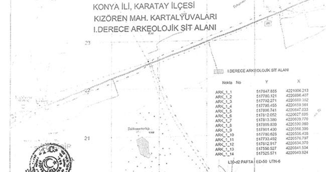 Konya'da bu bölgeler sit alanı ilan edildi