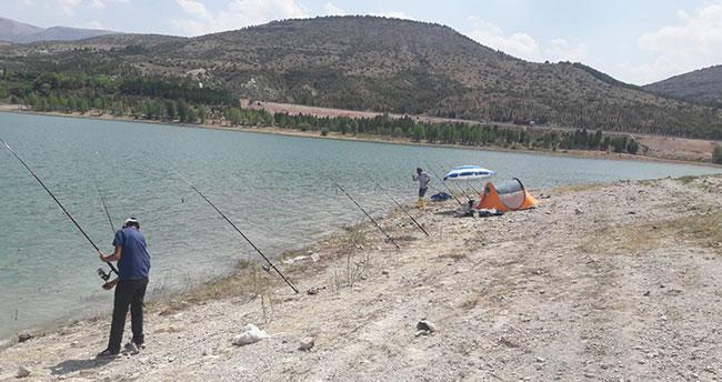 Konya'da baraj gölünde av denetimi: Bin 440 liralık para cezası kesildi