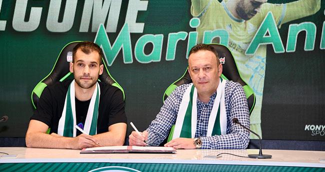 Marin Anicic Konyaspor'da