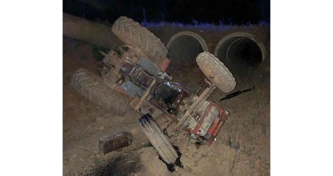 Konya'da kaza! Devrilen traktörün altında kalan çiftçi öldü