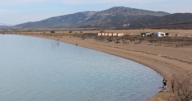 Beyşehir Belediyesi Karaburun Plajı'nın işletmesine talip