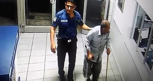 Yer: Konya… Parasını kaybeden yaşlı adama polis şefkati