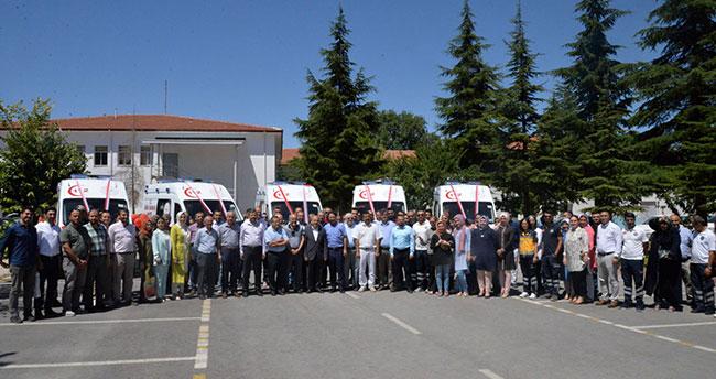 Konya'da ambulans sayısı 110'a yükseldi