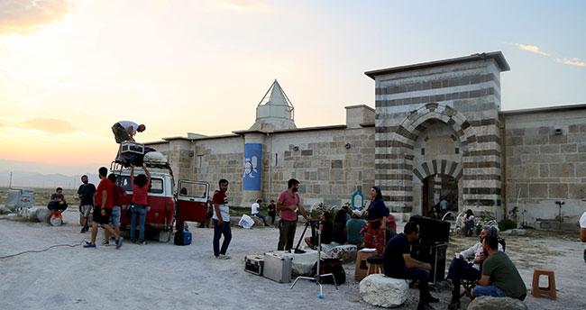 Konya'da Selçuklu'nun görkemli hanının kapısı turizme açıldı